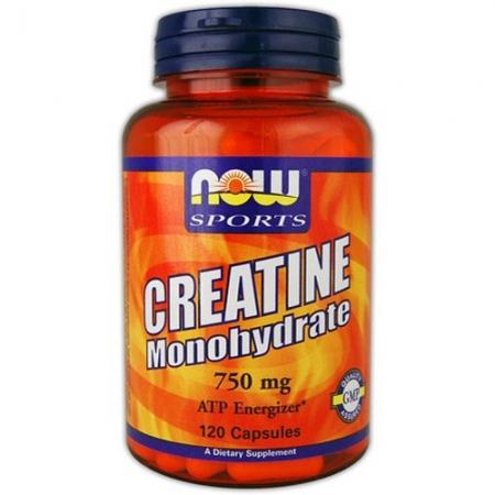 NOW Creatine Monohydrate 120 кап.