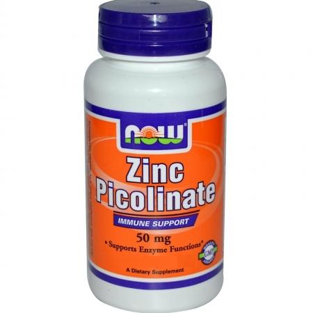 NOW Zinc Picolinate 50 мг 60 кап.