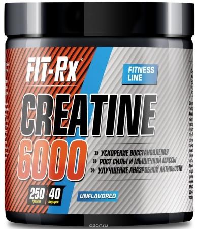 FIT RX Creatine 6000 250 гр