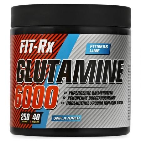 FIT RX Glutamine 6000 250 гр