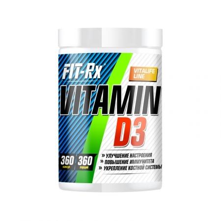 FIT RX Vitamin D3  360caps