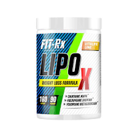 FIT RX Lipo X (180 caps)