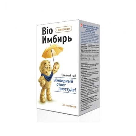 BIO NATIONAL Чай при простуде Биоимбирь 2г*20 пак.