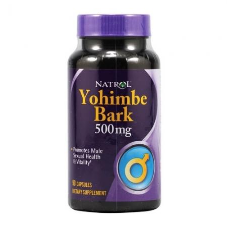 NATROL Yohimbe Bark 500 мг 90 кап.