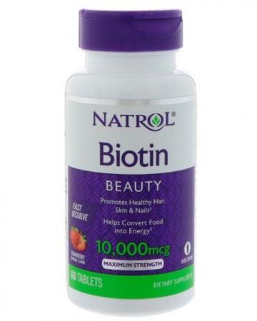 NATROL Biotin (Maximum strength) 10 000 мкг 60 таб.
