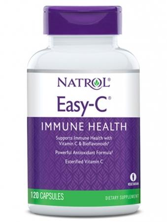 NATROL Easy-C 500 мг 120 кап.
