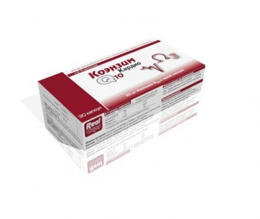REAL CAPS Коэнзим Q10 Кардио кап 500 мг №30