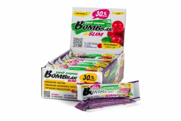 BOMBBAR Slim протеиновый батончик 35гр.
