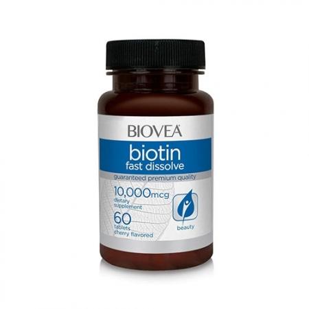 BIOVEA Biotin 10 000mcg 60tab