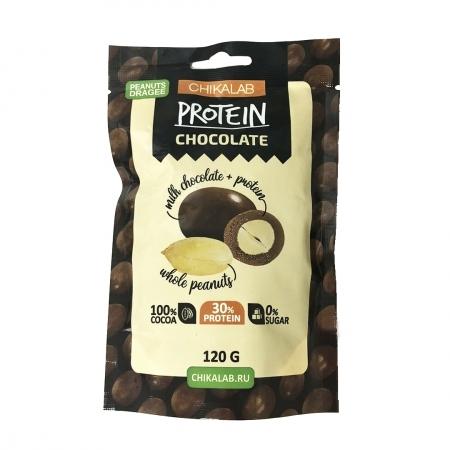 "CHIKALAB Драже ""Арахис в шоколаде"" 120 гр."