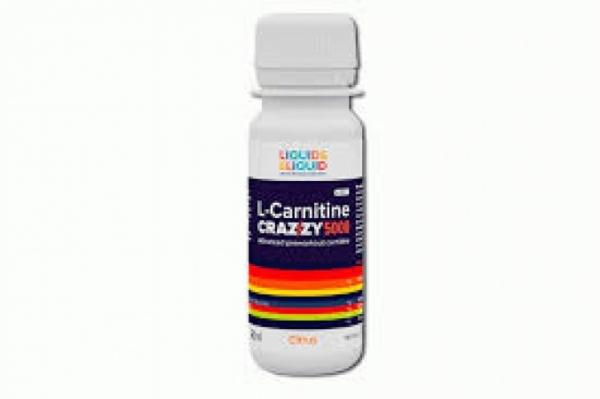 Liquid & Liquid L-Carnitine Crazzy 5000 (60ml)
