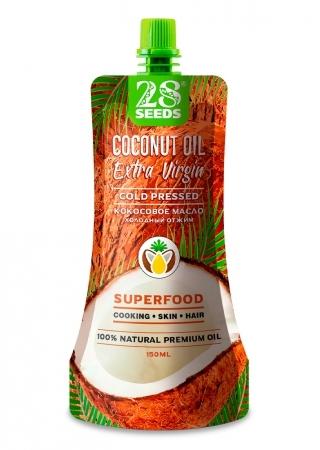 28 SEEDS кокосовое масло 150 мл