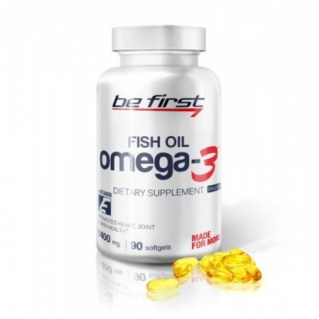 BeFirst Omega-3 + витамин E 90 гел., капсул.